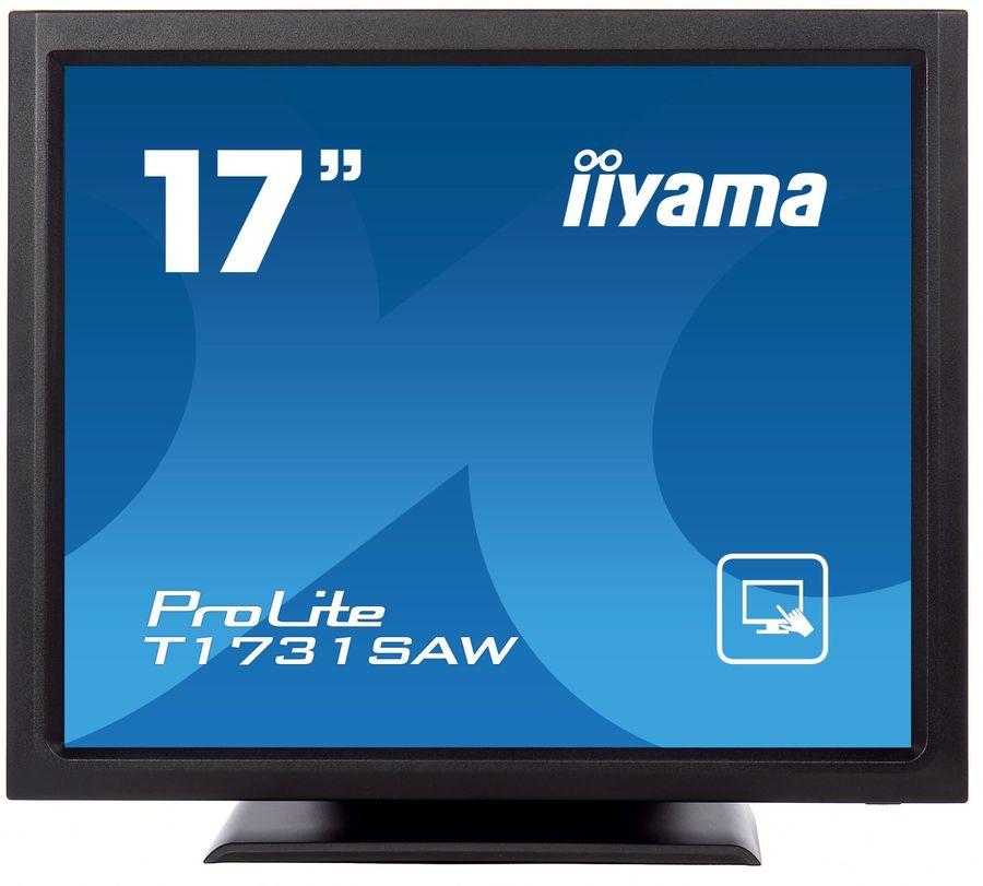 """Монитор ЖК IIYAMA T1731SAW-B1 17"""", черный"""