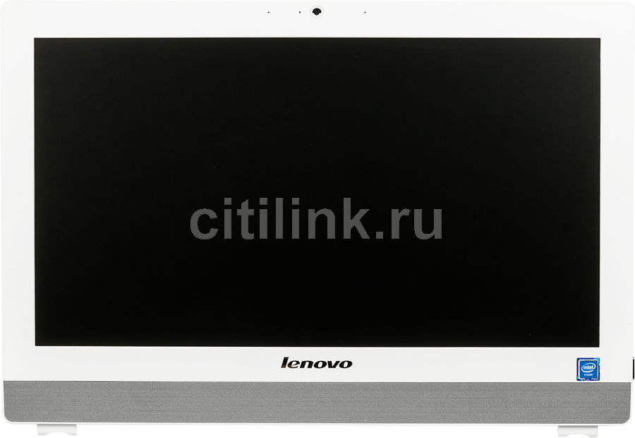 Моноблок LENOVO S200z, Intel Celeron J3060, 4Гб, 500Гб, Intel HD Graphics 400, noOS, белый [10k1000jru]Моноблоки<br>экран 19.5, 1600 х 900; процессор: Intel Celeron J3060, 1.6 ГГц (2.48 ГГц, в режиме Turbo); оперативная память: SO-DIMM, DDR3L 4096 Мб 1600 МГц; видеокарта: Intel HD Graphics 400; HDD: 500 Гб, 7200 об/мин, SATA III; Web-камера; Wi-Fi; Bluetooth<br>