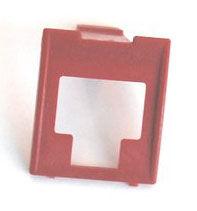 Вставка Corning (7000078624) шир.18мм выс.21мм красный (упак.:8шт)