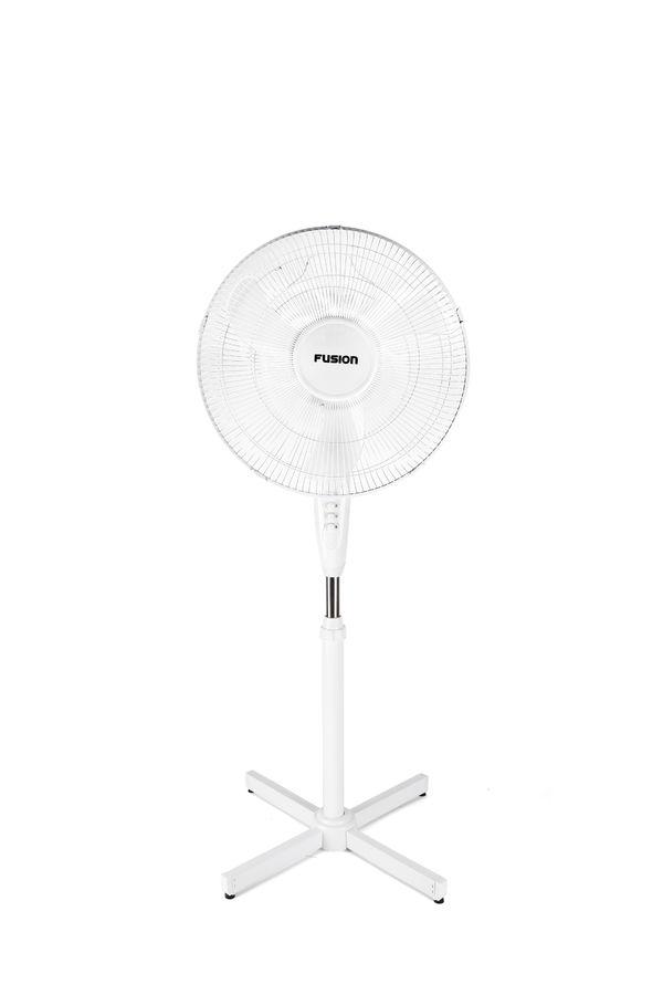 Вентилятор напольный SUPRA Fusion FSF-40,  белый