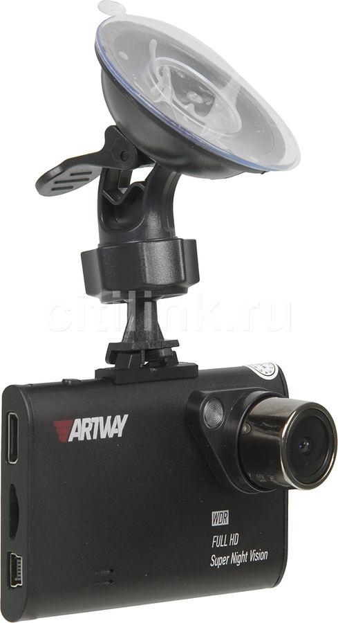 Видеорегистратор ARTWAY AV-480,  черный