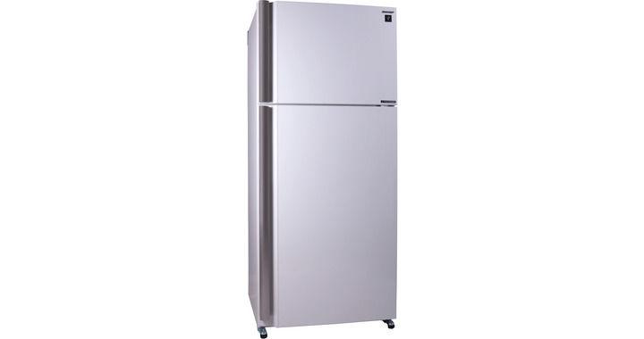 Холодильник SHARP SJ-XE55PMWH,  двухкамерный,  белый жемчуг