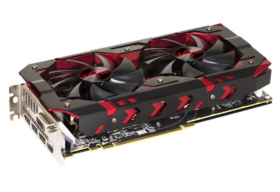Видеокарта POWERCOLOR Radeon RX 580,  Red Devil RX580,  8Гб, GDDR5, OC,  Ret [axrx580 8gbd5-3dh/oc]