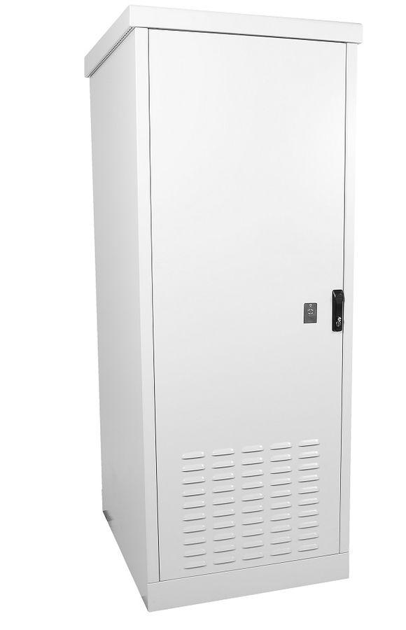 Шкаф коммутационный ЦМО (ШТВ-1-12.7.6-43АА) 12U 745x630мм пер.дв.металл 2 бок.пан. 800кг серый