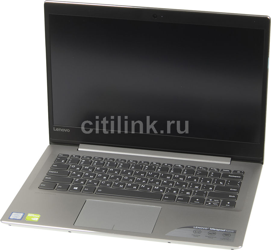 Ноутбук LENOVO IdeaPad 520S-14IKB, 14, Intel Core i7 7500U 2.7ГГц, 8Гб, 512Гб SSD, nVidia GeForce GF 940MX - 2048 Мб, Windows 10, 80X2000XRK, серый ноутбук lenovo ideapad 320 15isk 15 6 1366x768 intel core i3 6006u 256 gb 4gb nvidia geforce gt 920mx 2048 мб черный windows 10 home