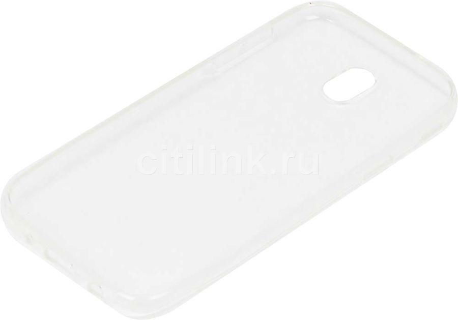 Чехол (клип-кейс) REDLINE iBox Crystal, для Samsung Galaxy J5 (2017), прозрачный [ут000011090]