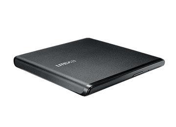 Оптический привод DVD-RW LITE-ON ES-1, внешний, USB, черный