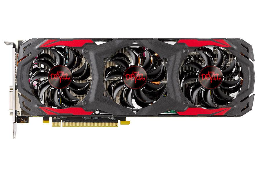 Видеокарта POWERCOLOR AMD  Radeon RX 570 ,  AXRX 570 4GBD5-3DH/OC Red Devil,  4Гб, GDDR5, OC,  Ret