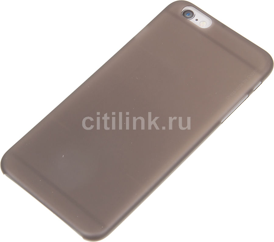 Чехол (клип-кейс) Deppa Sky Case, для Apple iPhone 6 Plus/6S Plus, серый [86019]