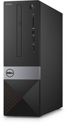 Компьютер DELL Vostro 3268, Intel Core i5 7400, DDR4 8Гб, 256Гб(SSD), Intel HD Graphics 630, DVD-RW, CR, Linux, черный [3268-4405] ноутбук dell vostro 3558 15 6 1366x768 intel pentium 3825u 500 gb 4gb intel hd graphics черный linux 3558 4483