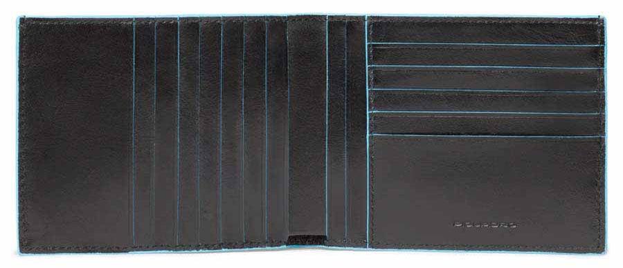Кошелек мужской Piquadro Blue Square PU1241B2R/N черный натур.кожа