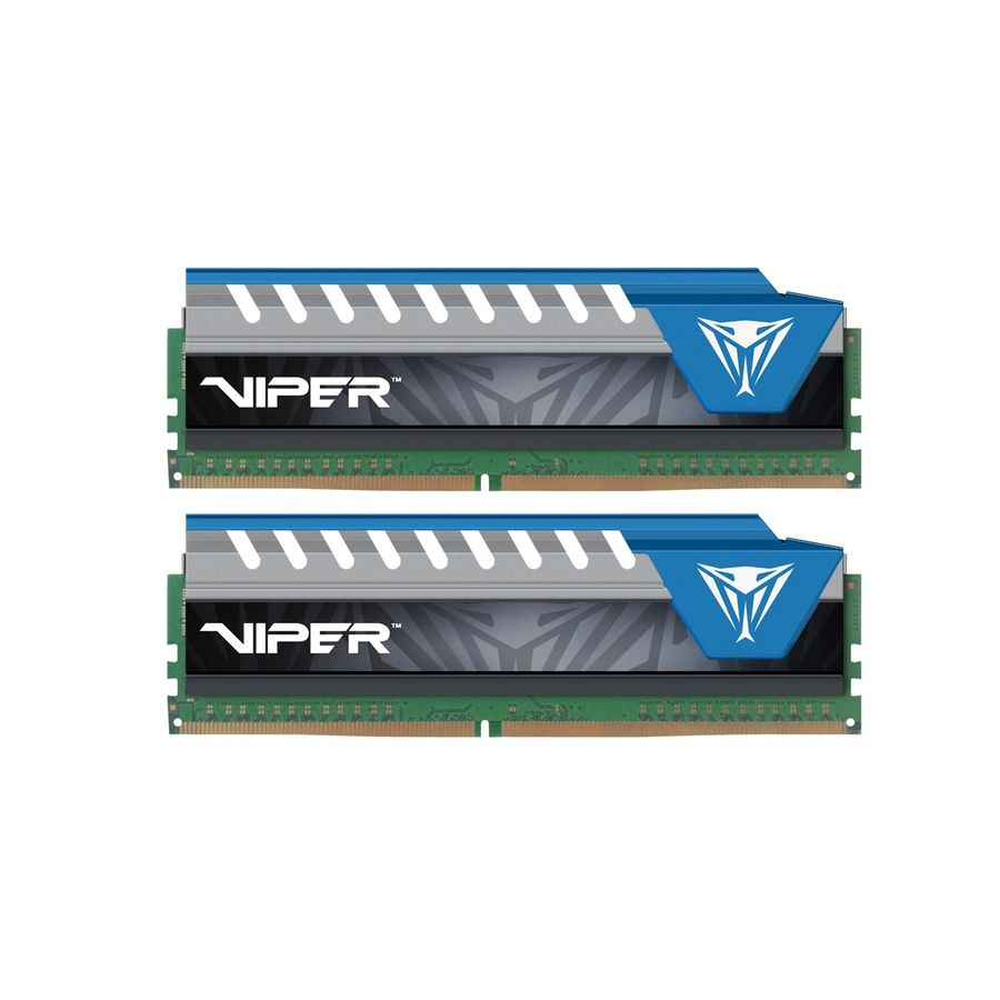 Модуль памяти PATRIOT Viper 4 PVE416G266C6KBL DDR4 - 2x 8Гб 2666, DIMM, Ret 2 гб ddr dimm 200 266 мгц