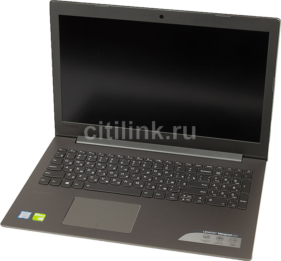Ноутбук LENOVO IdeaPad 520-15IKB, 15.6, Intel Core i3 7100U 2.4ГГц, 6Гб, 1000Гб, nVidia GeForce 940MX - 2048 Мб, Windows 10, серый [80yl005jrk] ноутбук hp pavilion 15 cc531ur 15 6 intel core i5 7200u 2 5ггц 6гб 1000гб 128гб ssd nvidia geforce 940mx 2048 мб windows 10 розовый [2ct30ea]