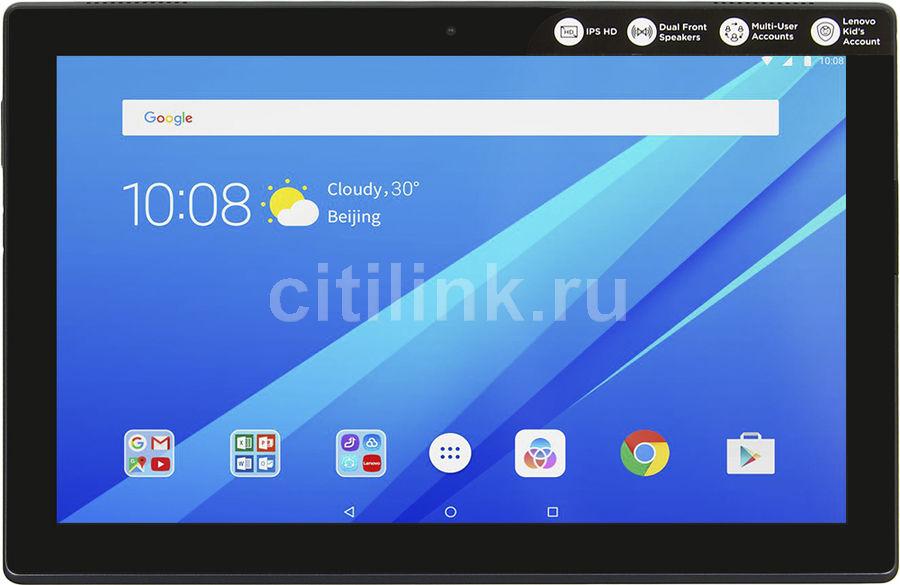 Планшет LENOVO Tab 4 TB-X304L,  2GB, 16GB, 3G,  4G,  Android 7.0 черный [za2k0056ru]
