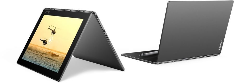 Планшет LENOVO Yoga Book YB1-X90F,  4GB, 64GB, Android 6.0 серый [za0v0062ru]