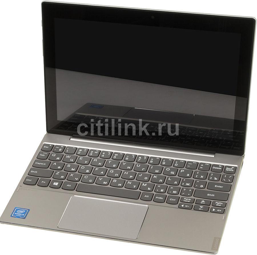 Планшет LENOVO MiiX 320-10ICR,  2GB, 32GB, Windows 10 серебристый [80xf007trk]