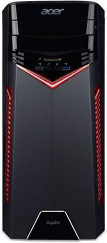 Компьютер  ACER Aspire GX-781,  Intel  Core i3  7100,  DDR4 8Гб, 1000Гб,  NVIDIA GeForce GTX 1060 - 3072 Мб,  DVD-RW,  CR,  Free DOS,  черный [dg.b88er.005]
