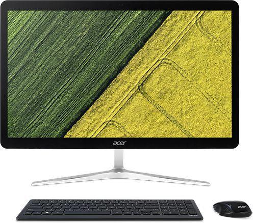 """Моноблок ACER Aspire U27-880, 27"""", Intel Core i7 7500U, 8Гб, 2Тб, Intel HD Graphics 620, Windows 10 Home, черный [dq.b8rer.001]"""