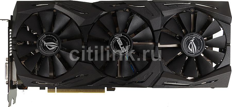 Видеокарта ASUS AMD  Radeon RX 580 ,  ROG-STRIX-RX580-O8G-GAMING,  8Гб, GDDR5, OC,  Ret