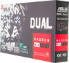 Видеокарта ASUS AMD  Radeon RX 580 ,  DUAL-RX580-O8G,  8Гб, GDDR5, OC,  Ret вид 8