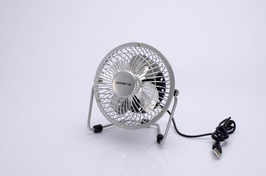 Вентилятор настольный POLARIS PUF 1012S,  белый