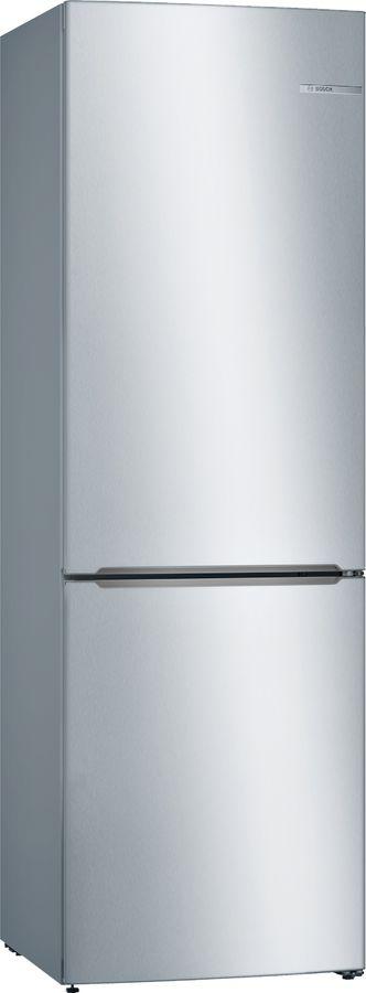 Холодильник BOSCH KGV36XL2AR,  двухкамерный, нержавеющая сталь