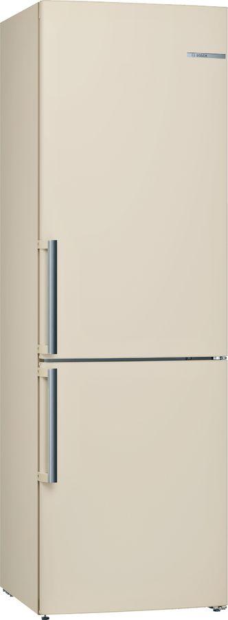 Холодильник BOSCH KGV36XK2OR,  двухкамерный, бежевый