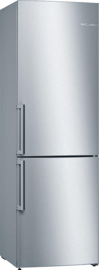 Холодильник BOSCH KGV36XL2OR,  двухкамерный, нержавеющая сталь