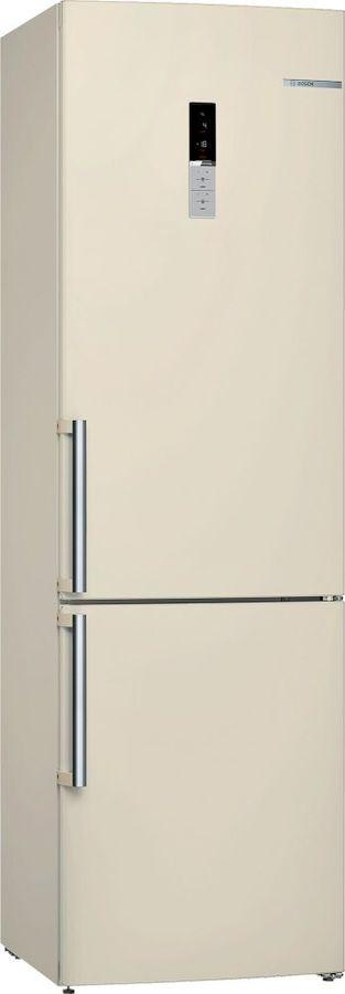 Холодильник BOSCH KGE39AK23R,  двухкамерный, бежевый