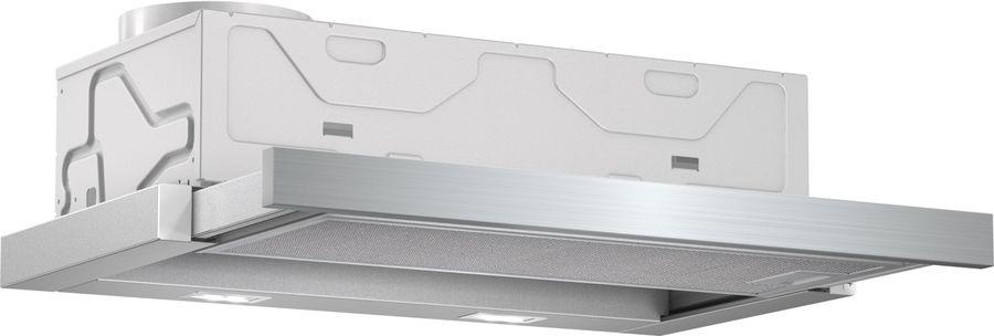 Вытяжка встраиваемая Bosch DFM064A51 серебристый управление: кнопочное (1 мотор)