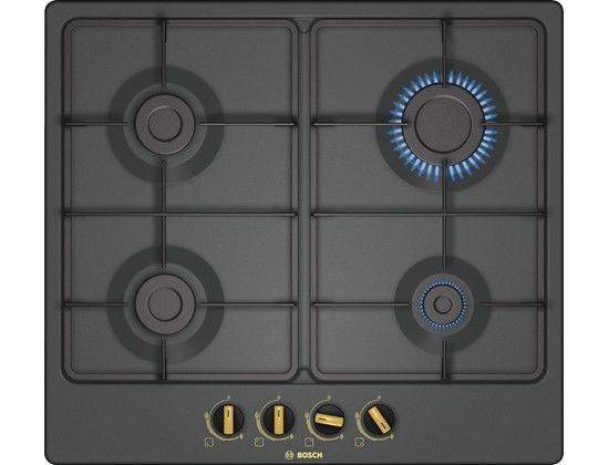 Варочная панель BOSCH PGP6B3B60,  независимая,  черный