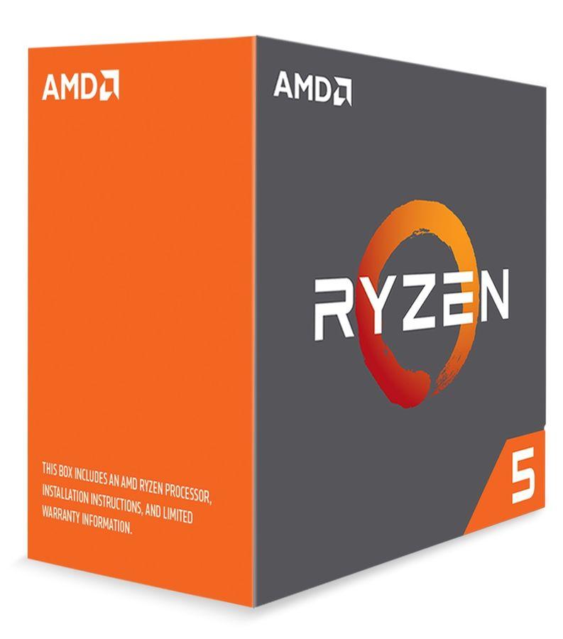 Процессор AMD Ryzen 5 1600X, SocketAM4 BOX [yd160xbcaewof]
