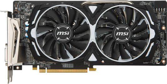 Видеокарта MSI AMD  Radeon RX 580 ,  Radeon RX 580 ARMOR,  4Гб, GDDR5, OC,  Ret [rx 580 armor 4g]