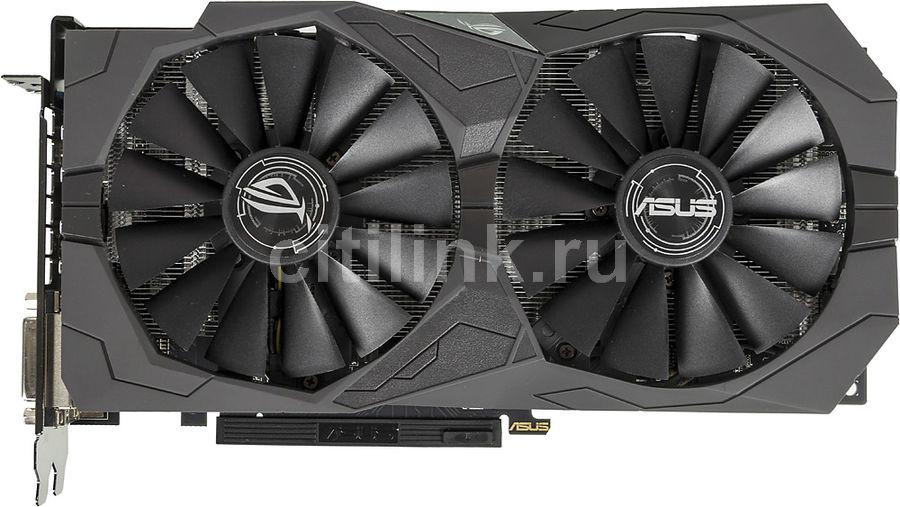 Видеокарта ASUS AMD  Radeon RX 570 ,  ROG-STRIX-RX570-4G-GAMING,  4Гб, GDDR5, OC,  Ret