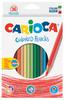 Карандаши цветные Carioca HEXAGONAL 41875 шестигран. 36цв. коробка/европод.