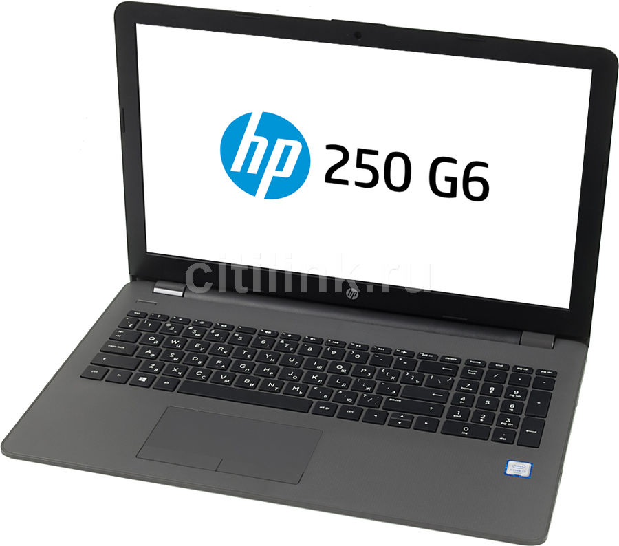 Ноутбук HP 250 G6, 15.6, Intel Core i3 6006U 2.0ГГц, 4Гб, 500Гб, Intel HD Graphics 520, DVD-RW, Windows 10 Professional, черный [1xn68ea]Ноутбуки<br>экран: 15.6;  разрешение экрана: 1366х768; тип матрицы: SVA; процессор: Intel Core i3 6006U; частота: 2.0 ГГц; память: 4096 Мб, DDR4, 2133 МГц; HDD: 500 Гб, 5400 об/мин; Intel HD Graphics 520; DVD-RW; WiFi;  Bluetooth; HDMI; WEB-камера; Windows 10 Professional<br>