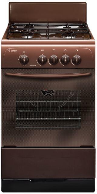 Газовая плита GEFEST 3200-08 К43,  газовая духовка,  коричневый