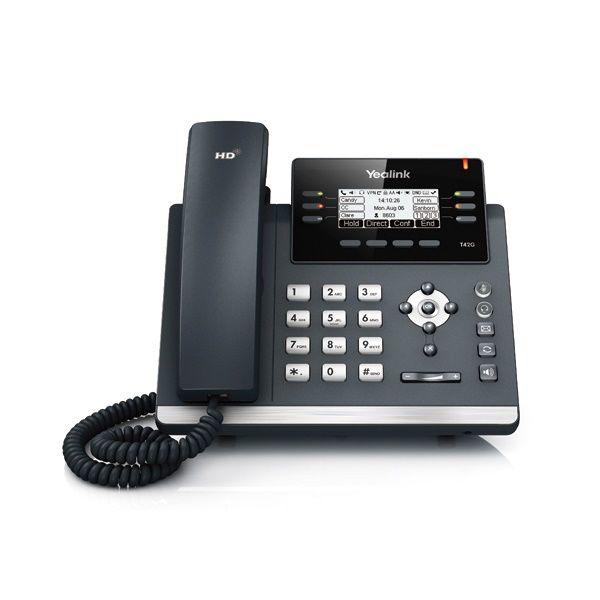 IP телефон YEALINK SIP-T42G SfB