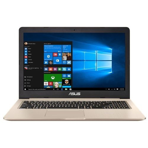 Ноутбук ASUS N580VD-DM194T, 15.6, Intel Core i5 7300HQ 2.5ГГц, 8Гб, 1000Гб, nVidia GeForce GTX 1050 - 2048 Мб, Windows 10, золотистый [90nb0fl1-m04940]Ноутбуки<br>экран: 15.6;  разрешение экрана: 1920х1080; процессор: Intel Core i5 7300HQ; частота: 2.5 ГГц (3.5 ГГц, в режиме Turbo); память: 8192 Мб, DDR4; HDD: 1000 Гб, 5400 об/мин; nVidia GeForce GTX 1050 - 2048 Мб; WiFi;  Bluetooth; HDMI; WEB-камера; Windows 10<br>