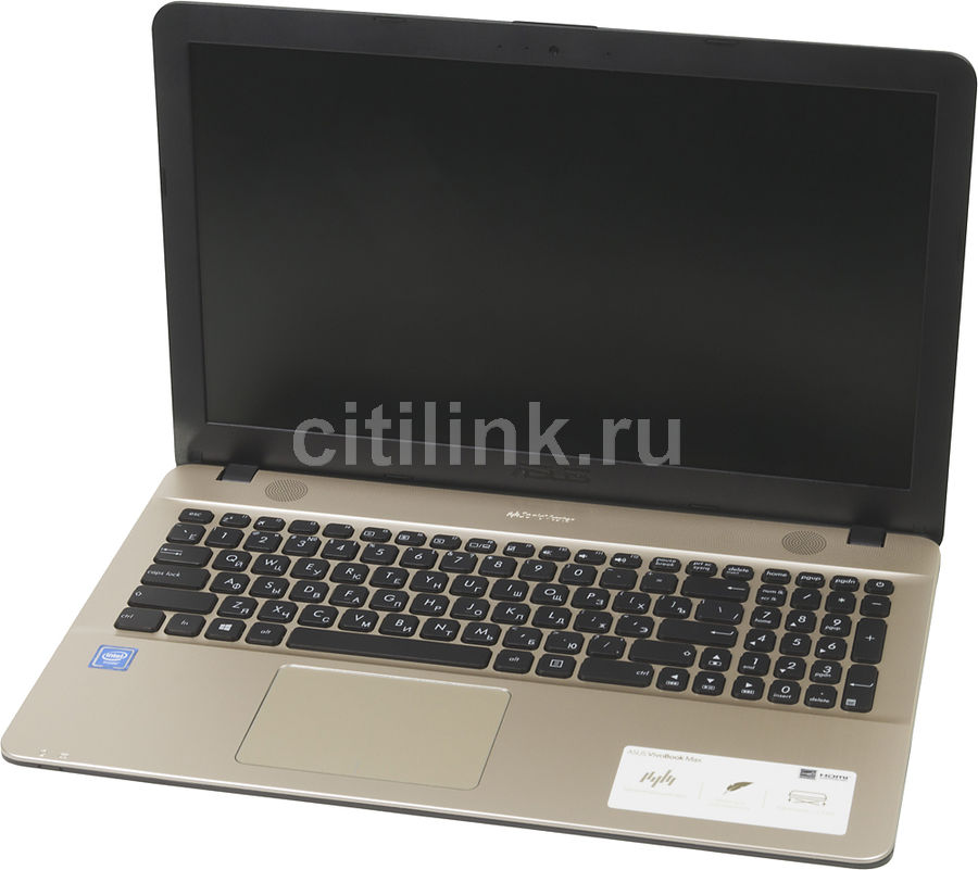 Ноутбук ASUS X541NA-GQ378, 15.6, Intel Celeron N3350 1.1ГГц, 4Гб, 500Гб, Intel HD Graphics , DVD-RW, Free DOS, черный [90nb0e81-m06770]Ноутбуки<br>экран: 15.6;  разрешение экрана: 1366х768; процессор: Intel Celeron N3350; частота: 1.1 ГГц (2.4 ГГц, в режиме Turbo); память: 4096 Мб, DDR3L; HDD: 500 Гб, 5400 об/мин; Intel HD Graphics ; DVD-RW; WiFi;  Bluetooth; HDMI; WEB-камера; Free DOS<br>