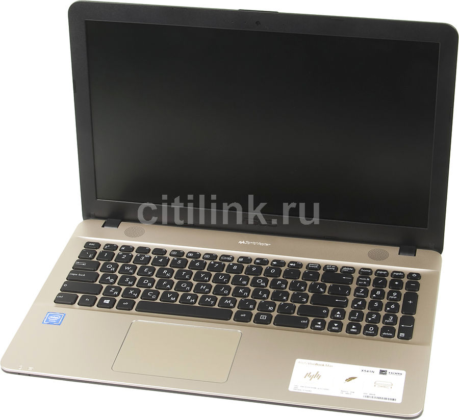Ноутбук ASUS X541NA-GQ245T, 15.6, Intel Celeron N3350 1.1ГГц, 4Гб, 500Гб, Intel HD Graphics 500, Windows 10, 90NB0E81-M04050, черный ноутбук asus x553sa xx137d 15 6 intel celeron n3050 1 6ghz 2gb 500tb hdd 90nb0ac1 m05820
