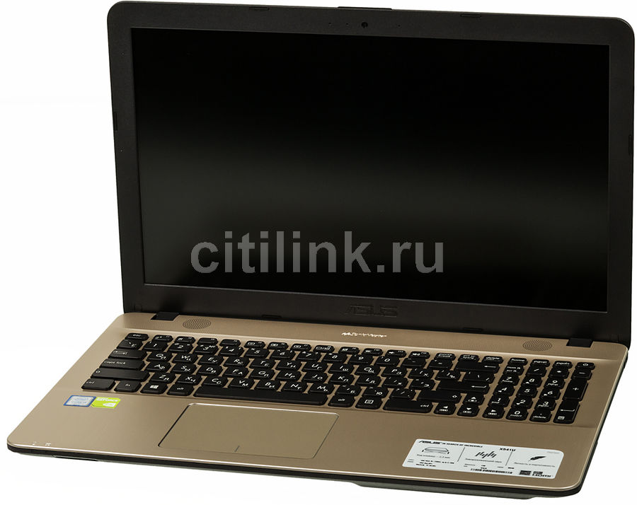 Ноутбук ASUS X541UJ-GQ438T, 15.6, Intel Core i5 7200U, 2.5ГГц, 4Гб, 500Гб, nVidia GeForce 920M - 2048 Мб, DVD-RW, Windows 10, черный [90nb0er1-m11500]Ноутбуки<br>экран: 15.6;  разрешение экрана: 1366х768; процессор: Intel Core i5 7200U; частота: 2.5 ГГц (3.1 ГГц, в режиме Turbo); память: 4096 Мб, DDR4; HDD: 500 Гб, 5400 об/мин; nVidia GeForce 920M - 2048 Мб; DVD-RW; WiFi;  Bluetooth; HDMI; WEB-камера; Windows 10<br>
