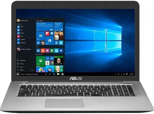 Ноутбук ASUS X756UW-T4081T, 17.3, Intel Core i7 7500U, 2.7ГГц, 8Гб, 1000Гб, 128Гб SSD, nVidia GeForce 960M - 4096 Мб, DVD-RW, Windows 10, серый [90nb0c43-m00850]Ноутбуки<br>экран: 17.3;  разрешение экрана: 1920х1080; процессор: Intel Core i7 7500U; частота: 2.7 ГГц (3.5 ГГц, в режиме Turbo); память: 8192 Мб, DDR4; HDD: 1000 Гб, 5400 об/мин; SSD: 128 Гб; nVidia GeForce 960M - 4096 Мб; DVD-RW; WiFi;  Bluetooth; HDMI; WEB-камера; Windows 10<br>
