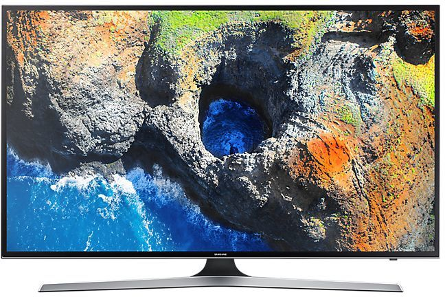 "LED телевизор SAMSUNG UE55MU6100UXRU  ""R"", 55"", Ultra HD 4K (2160p),  черный"