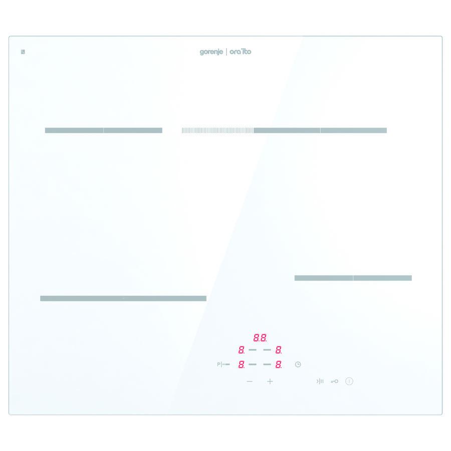 Варочная панель GORENJE Ora-Ito ECT693ORAW,  электрическая,  независимая,  белый