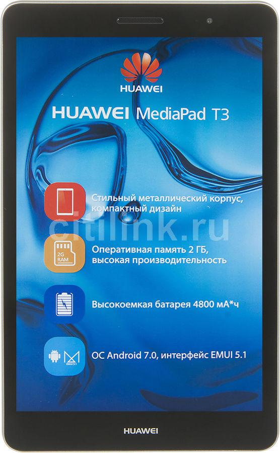 Планшет HUAWEI MediaPad T3 8.0,  2GB, 16GB, 3G,  4G,  Android 7.0 серый [53018493]