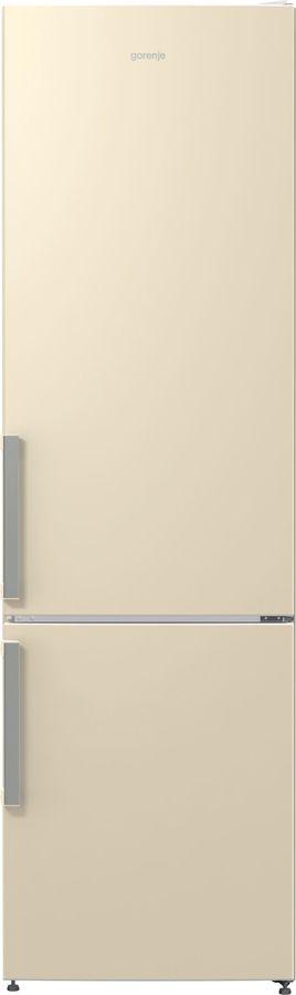 Холодильник GORENJE NRK6201GHC,  двухкамерный, бежевый