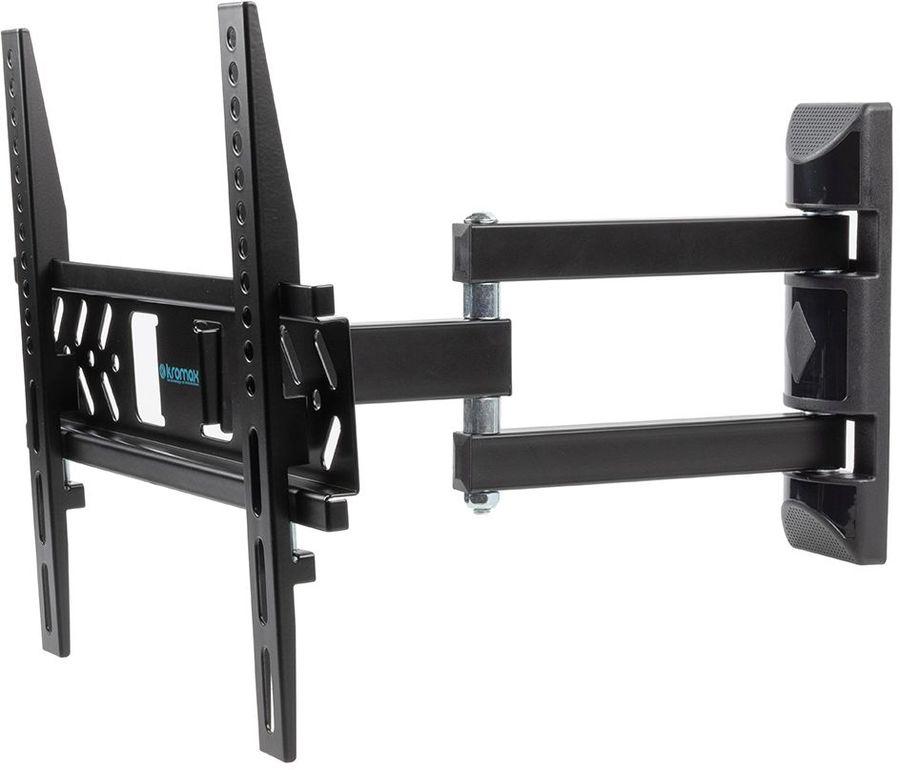 """Кронштейн для телевизора Kromax PIXIS-XS черный 22""""-55"""" макс.30кг настенный поворотно-выдвижной и на"""