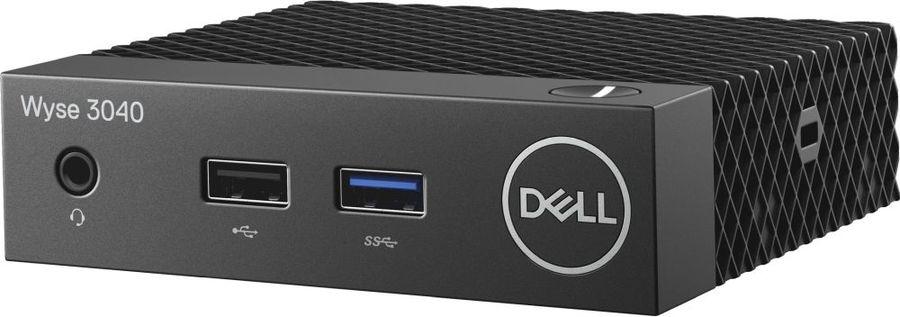 Тонкий клиент  DELL WYSE Thin 3040,  Intel  DDR3L 2Гб, 8Гб(SSD),  Intel HD Graphics 400,  ThinOs,  черный [210-alek]