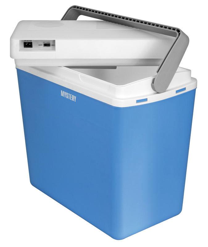 Автохолодильник MYSTERY MTC-243,  24л,  голубой и белый